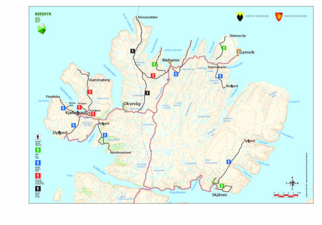 Kart Nordkyn