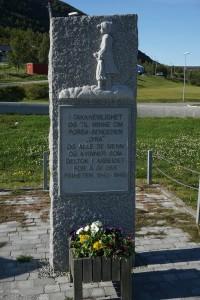 Hammerfest minnesmerke kvalsund 1