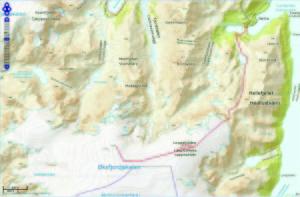 Kart jøkulen 2