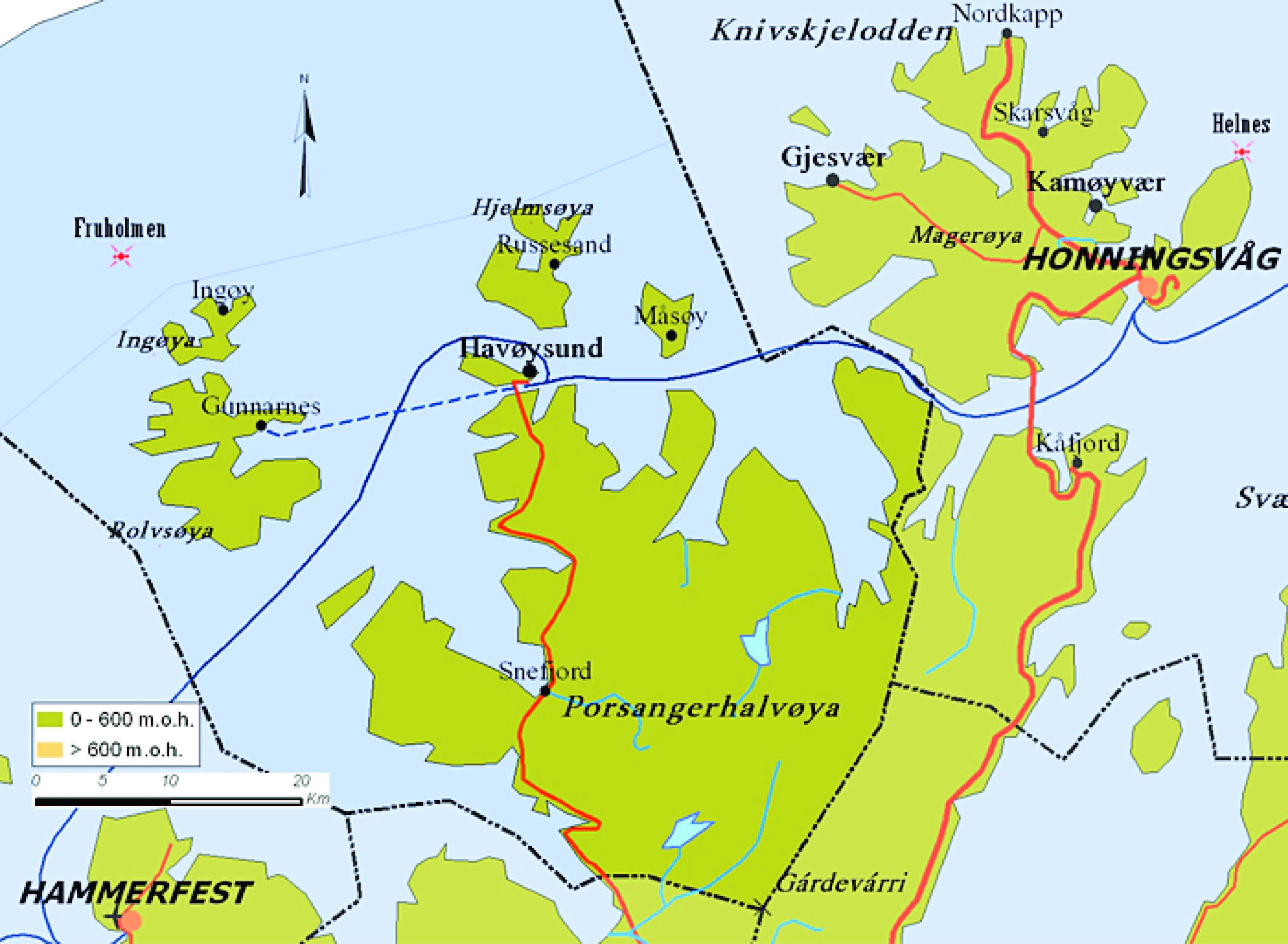 kart over finnmarksvidda Måsøy – Kart over Måsøy/ Maps Måsøy, Visitmåsøy | Travel Finnmark kart over finnmarksvidda