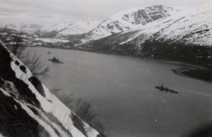 Alta Scharnhorst i Langfjord