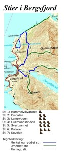 LOppa Bergsfjord oversikt