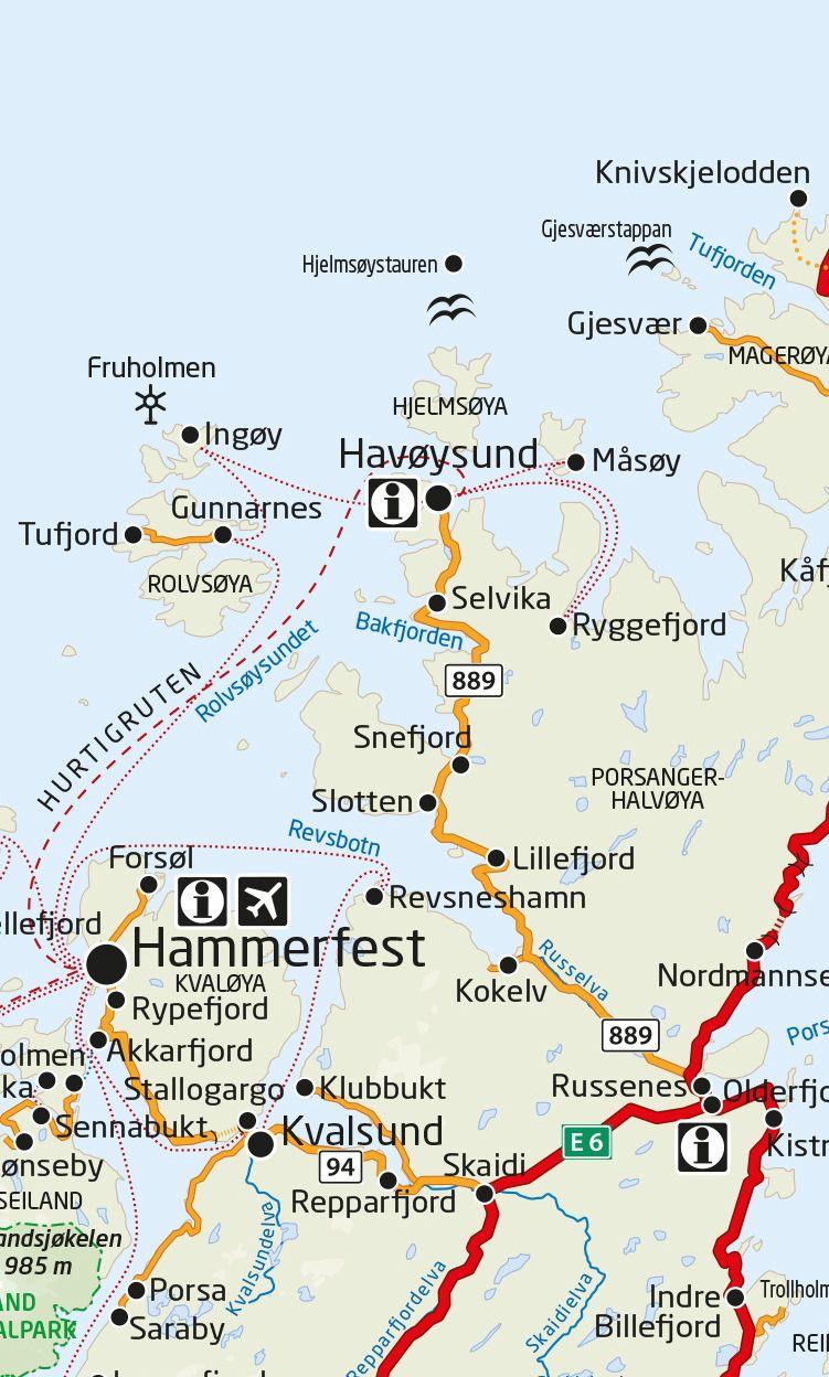 Masoy Veien Til Masoy Kart Booking Travel Finnmark