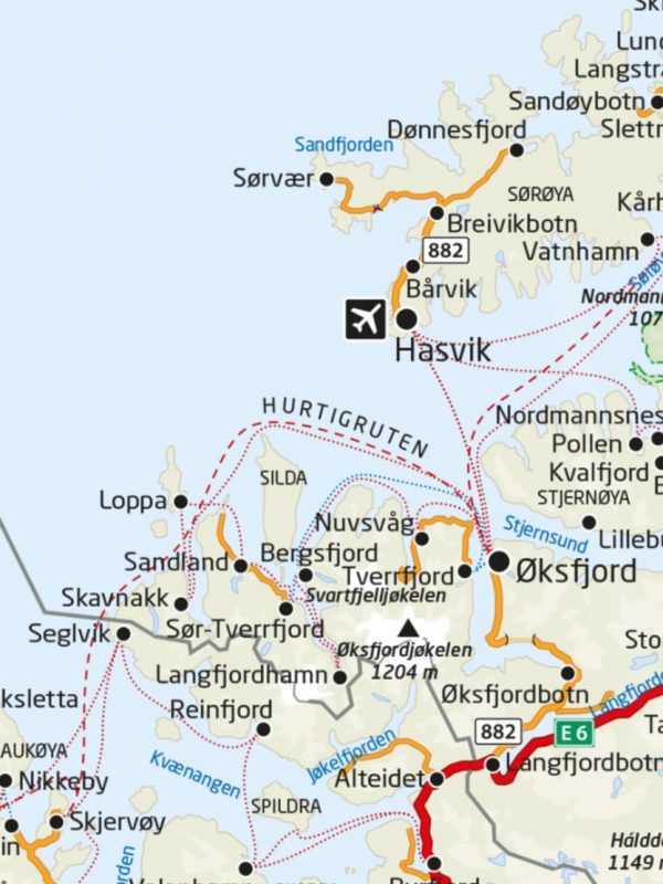 Articleskategorier Travel Finnmark